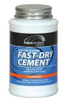 Vulkanizačný cement so štetcom 200 ml